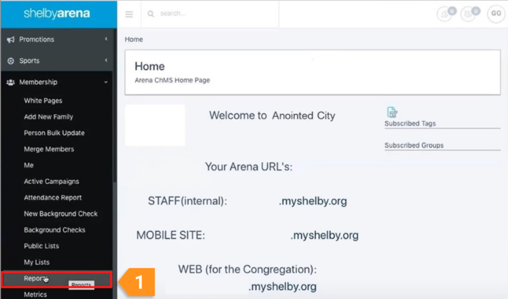 How can I integrate my Givelify donations with Shelby Arena?